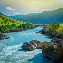 Реки Алтая 28